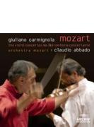 ヴァイオリン協奏曲第3番、第5番、協奏交響曲 カルミニョーラ、アバド&モーツァルト管弦楽団