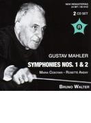 交響曲第1番『巨人』(ニューヨーク・フィル、1950)、第2番『復活』(ウィーン・フィル、1948) ワルター指揮(2CD)【CD】 2枚組