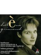 ピアノ協奏曲第4番、ピアノ・ソナタ第30&31番 エレーヌ・グリモー(p)、マズア&ニューヨーク・フィル
