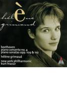 ピアノ協奏曲第4番、ピアノ・ソナタ第30&31番 エレーヌ・グリモー(p)、マズア&ニューヨーク・フィル【CD】