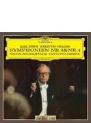 交響曲第3番、第4番 ベーム&ウィーン・フィル