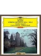 弦楽六重奏曲第1番、第2番 アマデウス四重奏団、アロノヴィツ、プリース