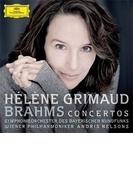 ピアノ協奏曲第1番、第2番 グリモー、ネルソンス&バイエルン放送響、ウィーン・フィル(2CD)【CD】
