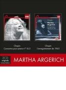 『幻のショパン・レコーディング1965』、ピアノ協奏曲集 アルゲリッチ、デュトワ&モントリオール響(2CD)【CD】 2枚組