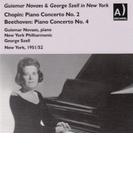 ショパン:ピアノ協奏曲第2番、ベートーヴェン:ピアノ協奏曲第4番 ノヴァエス、セル&ニューヨーク・フィル(1951、52)【CD】