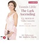 『揚げひばり~20世紀イギリスのヴァイオリン作品集』 タスミン・リトル、A.デイヴィス&BBCフィル【CD】