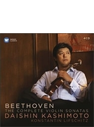 ヴァイオリン・ソナタ全集 樫本大進、リフシッツ(4CD)