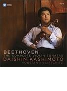ヴァイオリン・ソナタ全集 樫本大進、リフシッツ(4CD)【CD】 4枚組