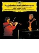 メンデルスゾーン:ヴァイオリン協奏曲、ブルッフ:ヴァイオリン協奏曲第1番 ムター、カラヤン&ベルリン・フィル【SHM-CD】