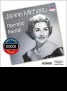 『ジャニーヌ・ミショー、オペラティック・リサイタル』 デゾルミエール&パリ音楽院管、他【CD】