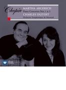 ピアノ協奏曲第1番、第2番 アルゲリッチ、デュトワ&モントリオール交響楽団【CD】