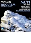レクィエム、アヴェ・ヴェルム・コルプス ムーティ&ベルリン・フィル、ストックホルム室内合唱団、スウェーデン放送合唱団【CD】