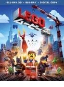 LEGO(R)ムービー 3D&2D ブルーレイセット(2枚組/デジタルコピー付)【初回限定生産】【ブルーレイ】 2枚組