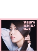 WHO'S BACK? (CD+DVD)