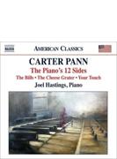 『ピアノの12のサイド』『チーズおろし器-2段階』『ビルズ』『ユア・タッチ』 ジョエル・ヘイスティングス