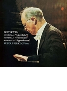 ピアノ・ソナタ集~月光、悲愴、熱情、告別 ルドルフ・ゼルキン【CD】