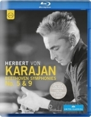 交響曲第5番『運命』(クルーゾー監督、1966)、第9番『合唱』(バートン監督、1977) カラヤン&ベルリン・フィル【ブルーレイ】