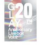 20th Anniversary LIVE BOX VOL.2 (Blu-ray)【ブルーレイ】 3枚組