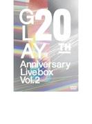 20th Anniversary LIVE BOX VOL.2 (DVD)【DVD】 3枚組