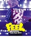 "JUNHO Solo Tour 2014 ""FEEL""【通常盤】(Blu-ray)【ブルーレイ】"