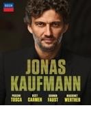 ヨナス・カウフマン~4つのオペラ全曲 トスカ、カルメン、ファウスト、ウェルテル(4BD)【ブルーレイ】 4枚組