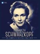 エリーザベト・シュヴァルツコップ/リサイタル録音全集1952~74(31CD)【CD】 31枚組