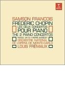 ピアノ協奏曲第1番、第2番 フランソワ、フレモー&モンテカルロ国立歌劇場管【CD】