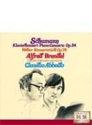 シューマン:ピアノ協奏曲、ウェーバー:コンツェルトシュテュック ブレンデル、アバド&ロンドン響