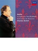交響曲第82番『熊』、第83番『めんどり』、第85番『王妃』 デュトワ&モントリオール・シンフォニエッタ【SHM-CD】
