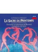 春の祭典、管楽器のための交響曲 シャルル・デュトワ&モントリオール交響楽団