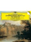 交響曲第3番『スコットランド』、第4番『イタリア』、フィンガルの洞窟 クラウディオ・アバド&ロンドン交響楽団
