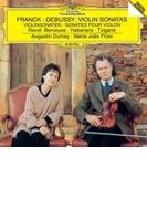 フランク:ヴァイオリン・ソナタ、ドビュッシー:ヴァイオリン・ソナタ、ラヴェル:ツィガーヌ、他 オーギュスタン・デュメイ、マリア・ジョアン・ピリス【SHM-CD】