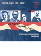 Favourite English Strings-britten, Elgar, Finzi, Bridge: Oramo / Ostrobothnian Co (Hyb)【SACD】