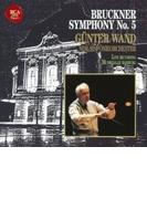 交響曲第5番 ギュンター・ヴァント&北ドイツ放送交響楽団(1989)【CD】