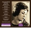 ショパン:ピアノ・ソナタ第2番、ベートーヴェン:熱情、ラヴェル:夜のガスパール、モーツァルト、他 ジャクリーヌ・エマール(2CD)【CD】 2枚組