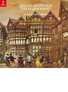 『グリーンスリーヴズ』 デイヴィッド・マンロウ、ロンドン古楽コンソート、ジョージ・マルコム【CD】