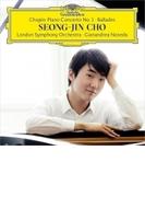 ピアノ協奏曲第1番、4つのバラード チョ・ソンジン、ジャナンドレア・ノセダ&ロンドン交響楽団【CD】