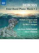 4手のためのピアノ作品集第2集~牧神の午後への前奏曲、海、映像 ジャン=ピエール・アルマンゴー、オリヴィエ・シャズ【CD】