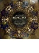 『ヴァイオリンとヴィオラのための作品集~モーツァルト、ブルッフ、マルチヌー、他』 ダヴィデ・アローニャ、ホセ・アドルフォ・アレホ、他(2CD)【CD】 2枚組