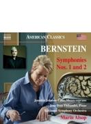 交響曲第2番『不安の時代』、第1番『エレミア』 マリン・オールソップ&ボルティモア交響楽団、ジャン=イヴ・ティボーデ、他