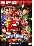 Power Rangers S.p.d. Dvd-box1【DVD】 4枚組