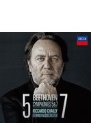 交響曲第5番『運命』、第7番 リッカルド・シャイー&ゲヴァントハウス管弦楽団