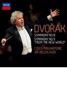 交響曲第9番『新世界より』、第8番 イエジ・ビエロフラーヴェク&チェコ・フィル(2013)【SHM-CD】