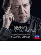 悲劇的序曲、大学祝典序曲、ハイドン変奏曲、他 リッカルド・シャイー&ゲヴァントハウス管弦楽団【SHM-CD】