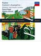 Sinfonietta, Concert Champetre, Suite Francaise, Les Biches: Dutoit / French National O Roge(Cemb)【SHM-CD】