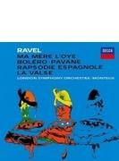 管弦楽作品集~ボレロ、ラ・ヴァルス、亡き王女のためのパヴァーヌ、スペイン狂詩曲、『マ・メール・ロワ』全曲 ピエール・モントゥー&ロンドン交響楽団