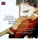 ベートーヴェン:ヴァイオリン協奏曲、ブリテン:ヴァイオリン協奏曲 ジャニーヌ・ヤンセン、パーヴォ・ヤルヴィ&ドイツ・カンマーフィル、ロンドン交響楽団【SHM-CD】