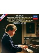 インヴェンションとシンフォニア、4つのデュエット、半音階的幻想曲とフーガ アンドラーシュ・シフ(ピアノ)(1982-83)