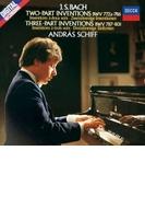 インヴェンションとシンフォニア、4つのデュエット、半音階的幻想曲とフーガ アンドラーシュ・シフ(ピアノ)(1982-83)【SHM-CD】