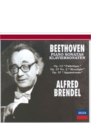ピアノ・ソナタ第8番『悲愴』、第14番『月光』、第23番『熱情』 アルフレート・ブレンデル(1993,94)